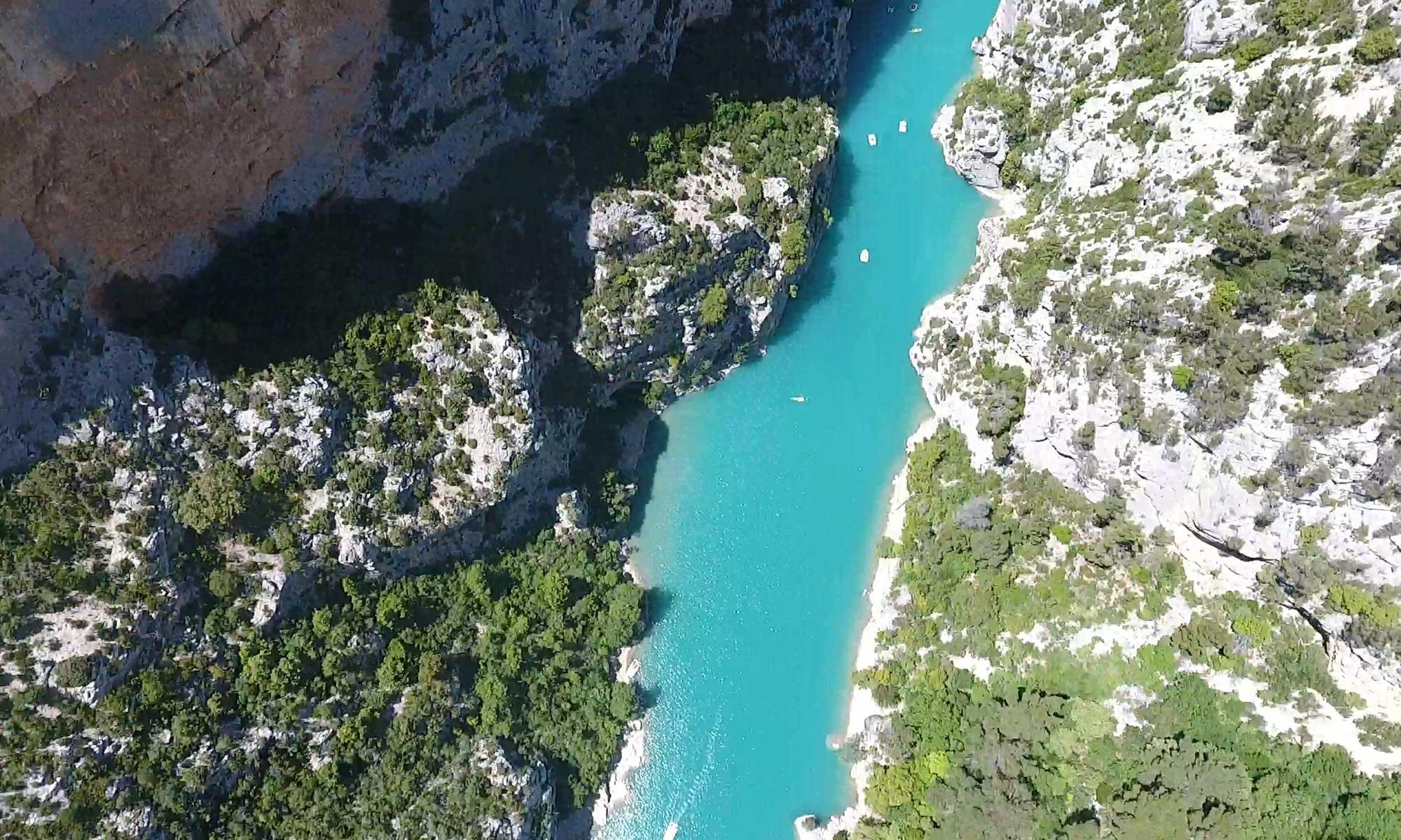 Gorges du Verdon - photo Vue des Anges