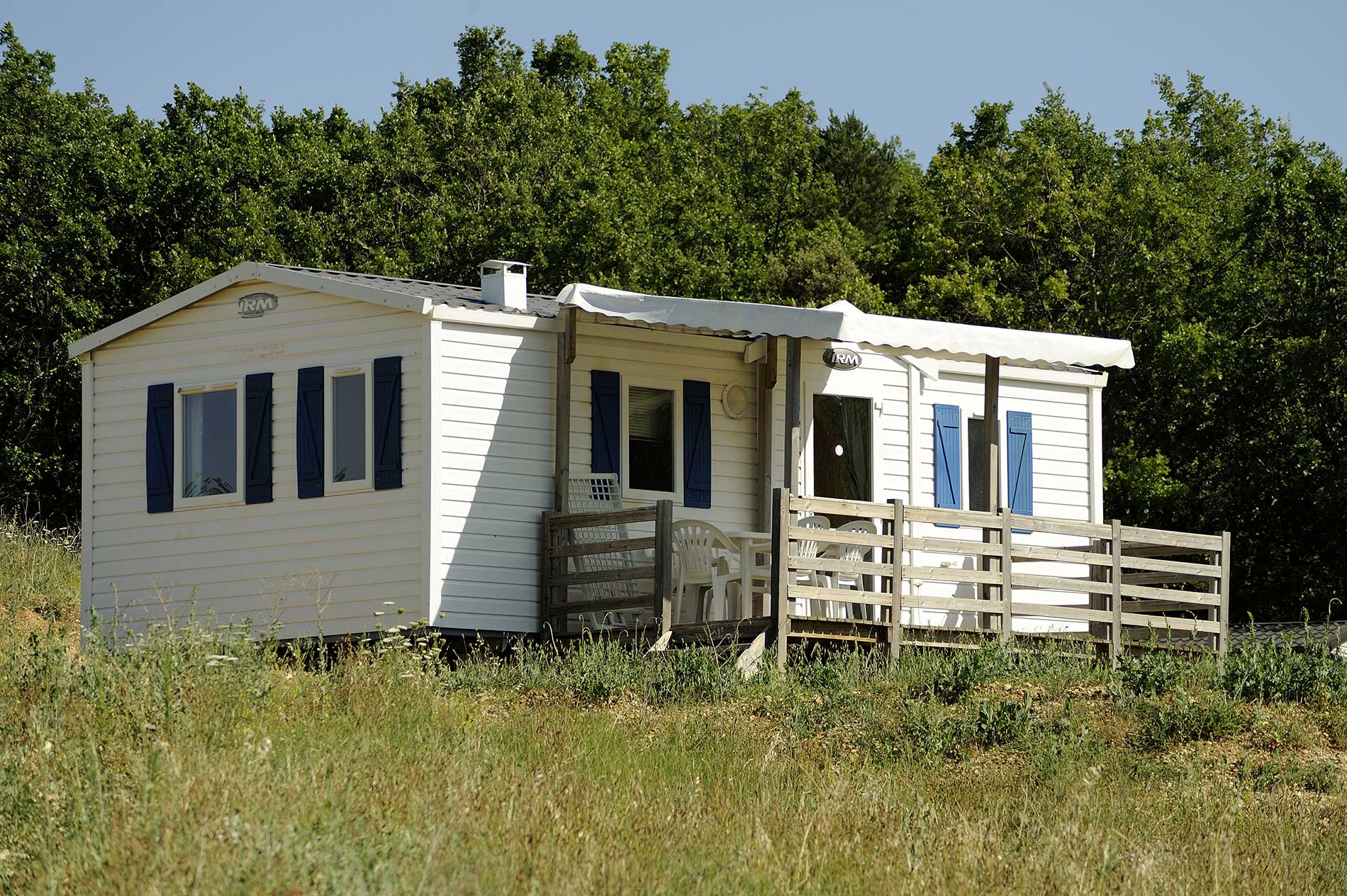 Mobile-homes - Petir Arlane - naturisme Provence Verdon