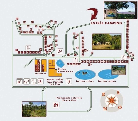 Plan domaine Petit Arlane en PDF